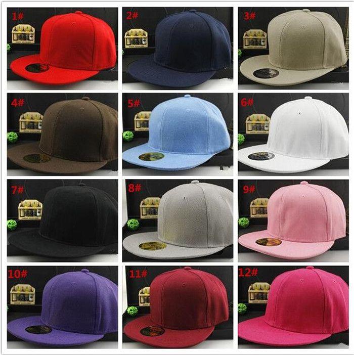 30 pcs boa qualidade sólida plain snapback em branco chapéus sólidos bonés de beisebol tampas de futebol de basquete ajustável preço barato cap R158