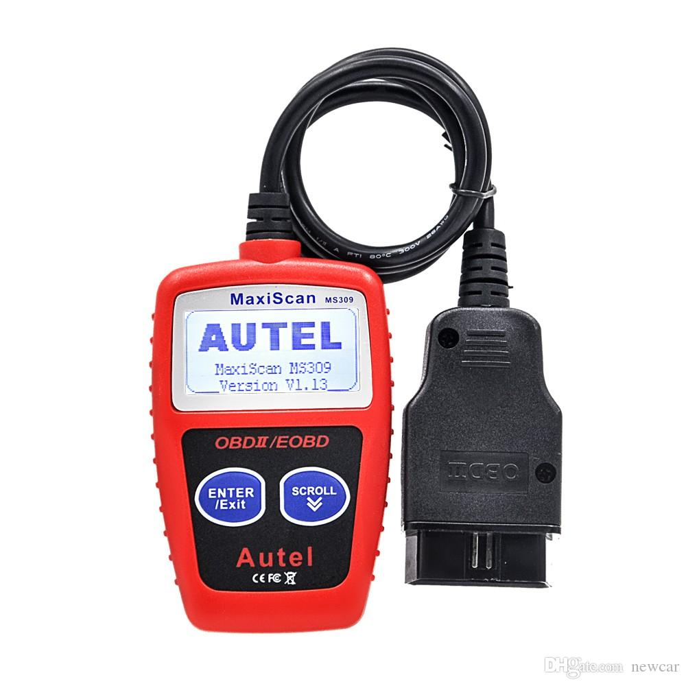 Autel MaxiScan MS309 CAN BUS OBD2 Kod Okuyucu EOBD OBD II Teşhis Aracı Autel MS309 Kod Tarayıcı PK OM121 MS300 KW806