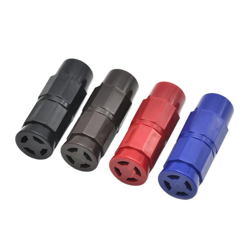 Yeni Sigara Boru Plastik Polen Basın Metal Basınç Cihazı Aksesuarları Yenilikçi Tasarım Çoklu Kullanımları Krem Kırbaç Yüksek Kalite DHL
