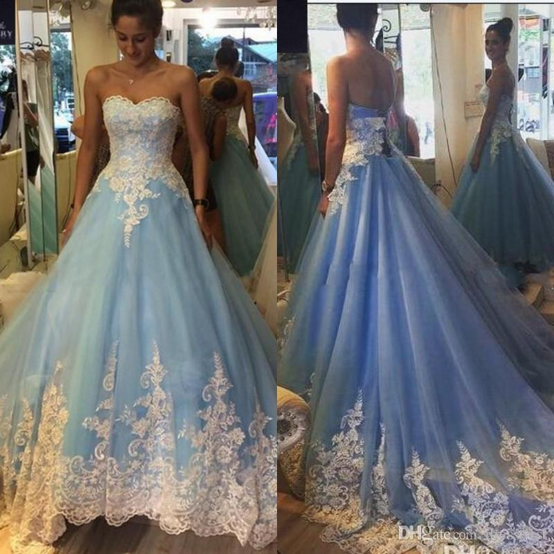 Blue Wedding Dresses Fall