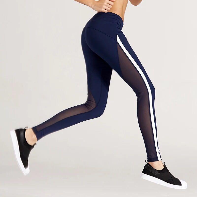 Malla Yoga Pantalones Medias Mujeres Fitness Deporte Femme Push UP Legging Mujeres Deporte Leggings Vetement Sport Femme Fitness Pant Dropship suave