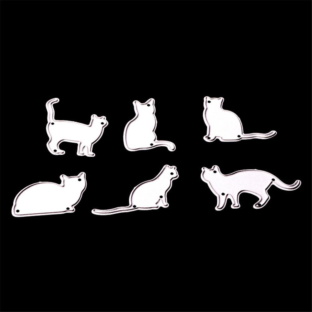 Waschbär Katze Metall Stanzformen Schablone Für Scrapbooking Fotopapier Karten