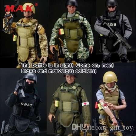 1//6 Figurine D/'action De Soldat Militaire 12 Pouces 30 Cm SWAT Homme De La