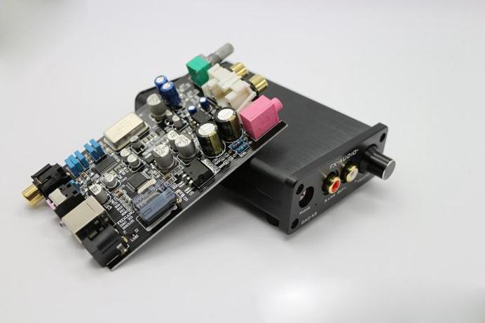 Freeshipping FX-AUDIO DAC-X3 Fiber Coaxial USB Decoder 24BIT/192Khz USB DAC Headphone 192khz Decoder audio amplifiers