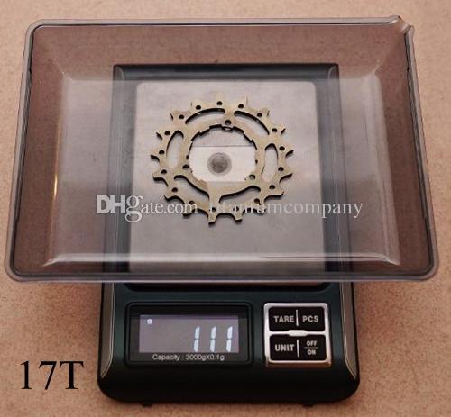 2pcs/lot Titanium TC4 Bicycle External Hub 2 Speed Hub Flywheel Gears Sprockets 12T 13T 14T 15T 16T 17T for Brompton