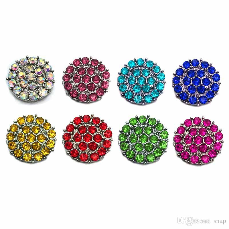 Высокое качество сердце цветы W162 18 мм 20 мм горный хрусталь металлическая кнопка для оснастки кнопка браслет ожерелье ювелирные изделия для женщин серебряные ювелирные изделия