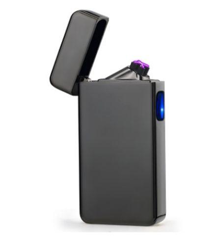 anti-vent Pantheraa Briquet arc plasma USB allume-cigare /électrique 2-en-1 rechargeable sans flamme