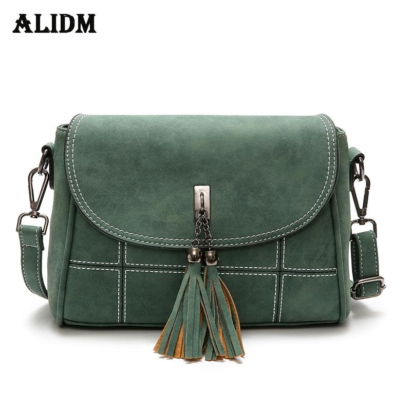 8f0532e8e60b Brand Tassel Flap Women Bag Vintage Scrub Crossbody Bags For Women Thread  Handbags Designer High Quality Small Sac a main 2018