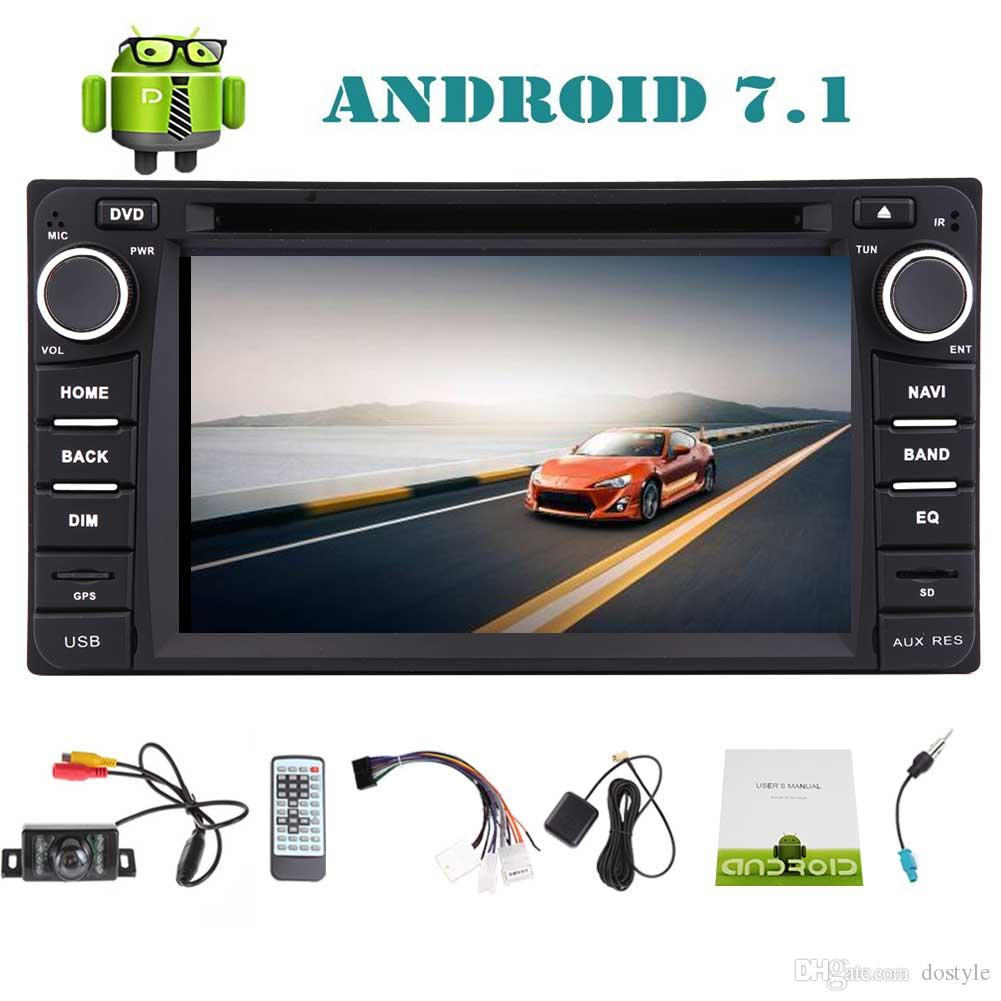 Double 2 din Octa Core Android 7.1 Car fits to TOYOTA Corolla EX(2008~2013) car DVD Player Stereo GPS Navigation 6.2''Bluetooth