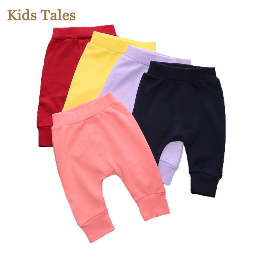 Children Winter Leggings Multicolor Baby Bread Pants Cotton 4 Pcs/1 Lot Mix Order Factory Cost Cheap Wholesale