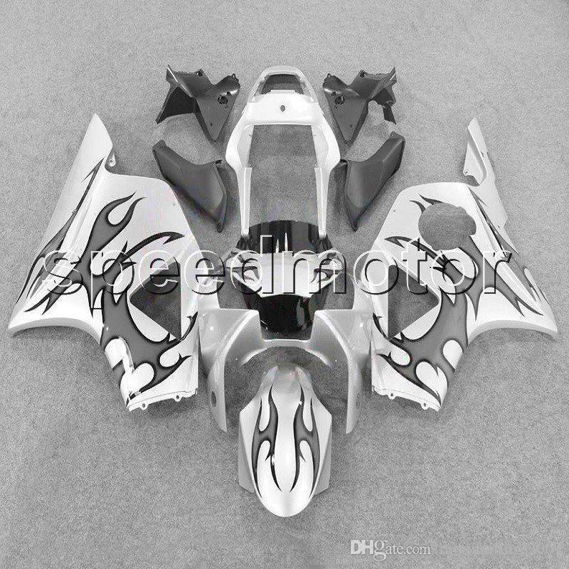 couleurs + cadeaux capot de moto flammes grises carénage pour HONDA CBR900RR 2002 2003 CBR954RR 02 03 kit plastique ABS