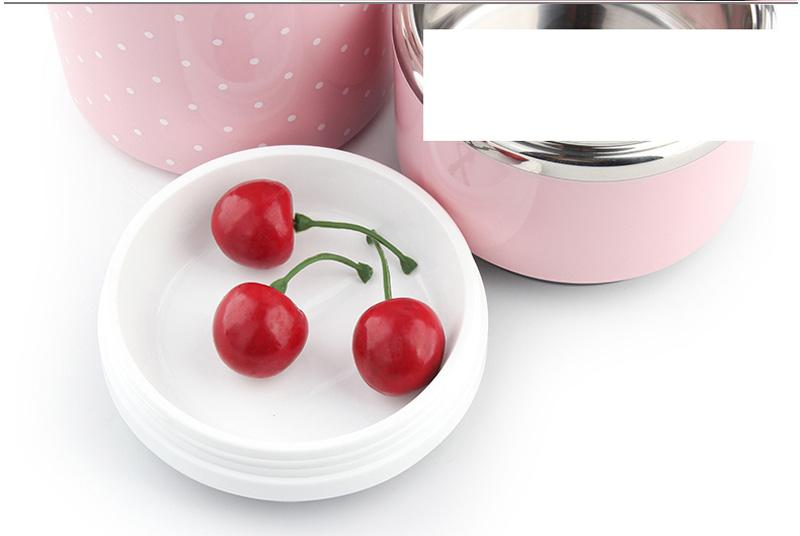 Portable Japanese Lunch Boxs Thermal Insulation Food Containers Stainless Steel Metal Plastic School Kids Bento Box Dinner Sets27