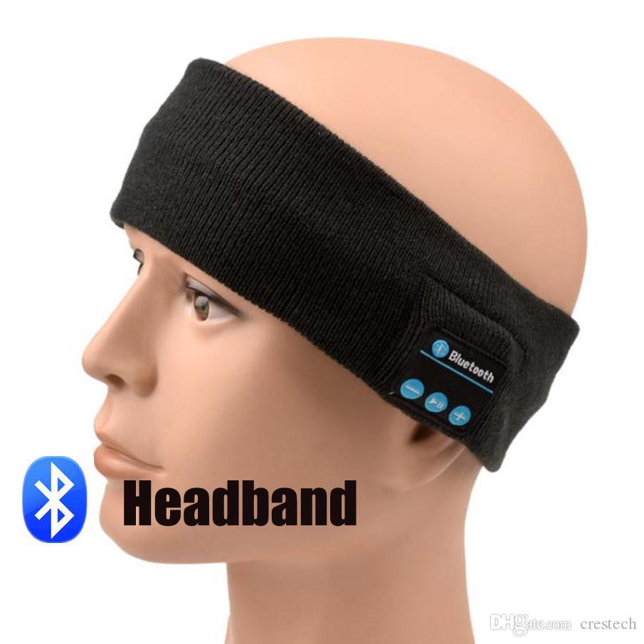 """""""Inalámbrico Bluetooth Inteligente Mágico Head Head Fillet Tenia Elástico Suave Auricular Altavoz Auriculares Deporte Auriculares Adornos de Cabeza Con Respuesta Llamada"""