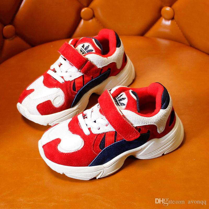Brand Children matching Casual Sport Shoes Boys And Girls Sneakers Children's Running Shoes For Kids Air Cushion Shoes XXP10