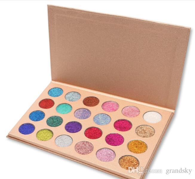 CLEOF Cosmetics Glitter Eyeshadow Palette 24 Colors Makeup Eye Shadow Palette