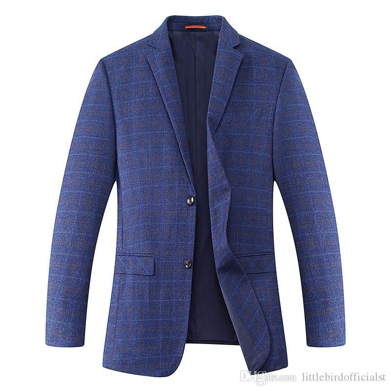 Plus size 10XL 9xl 8XL 7XL 6XL 2017 New Arrival Autumn And Winter Men's Suit Jacket Fashion Slim Fit Brazer Casual Blazers Men