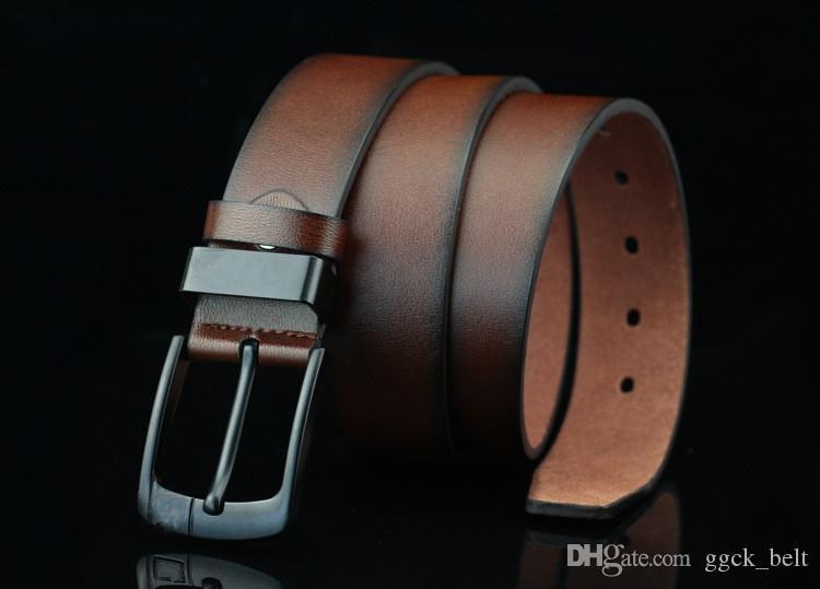 Moda 2019 Nuovo designer di arrivo Pin fibbia cinture in pelle per uomo cintura cintura in pelle cintura da uomo cinghia maschio Ceinture