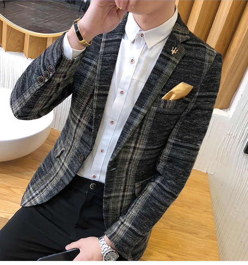 Suit Collar Men Jacket (4)