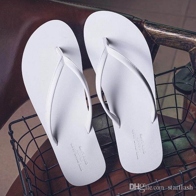 Nuovi infradito da uomo in pelle sandali genuini maschio estate Pantofole da spiaggia scarpe moda traspirante pantofole di alta qualità innamorato