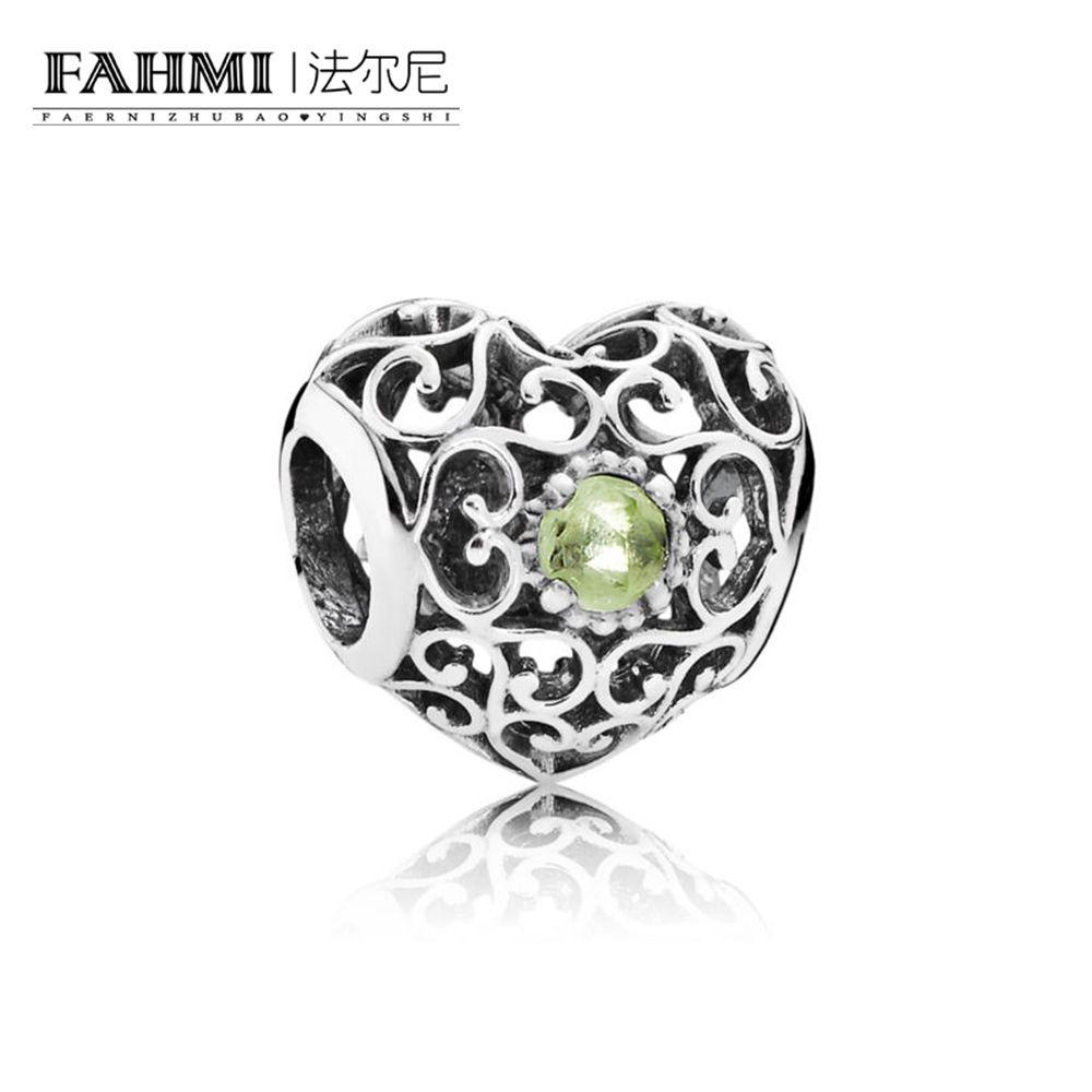 FAHMI 100% Argent 925 1: 1 Original Douze Naissances 791784PE Charm Tempérament authentique Mode Rétro Glamour Bijoux de mariage des femmes