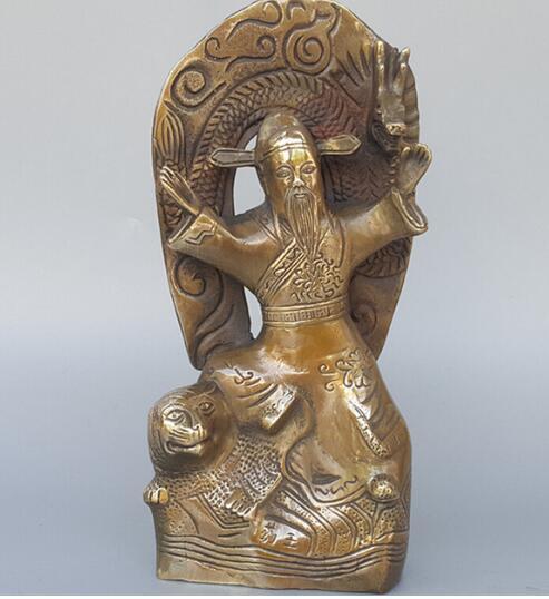 """+ A explosão loja de escultura de cobre puro """"oferta especial rei Sun Simiao Zhaocai casa ornamentos dedicar"""