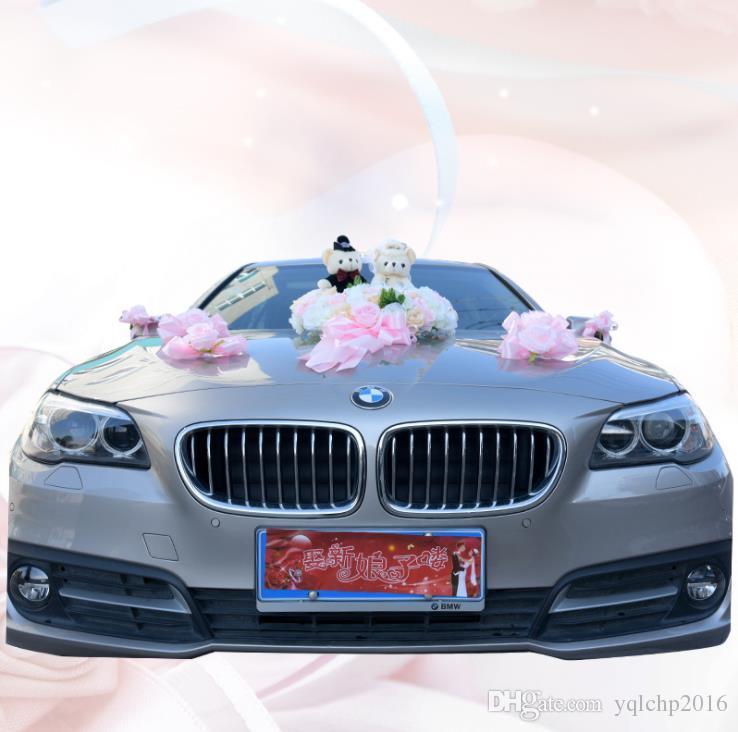 Свадебные принадлежности для украшения автомобилей