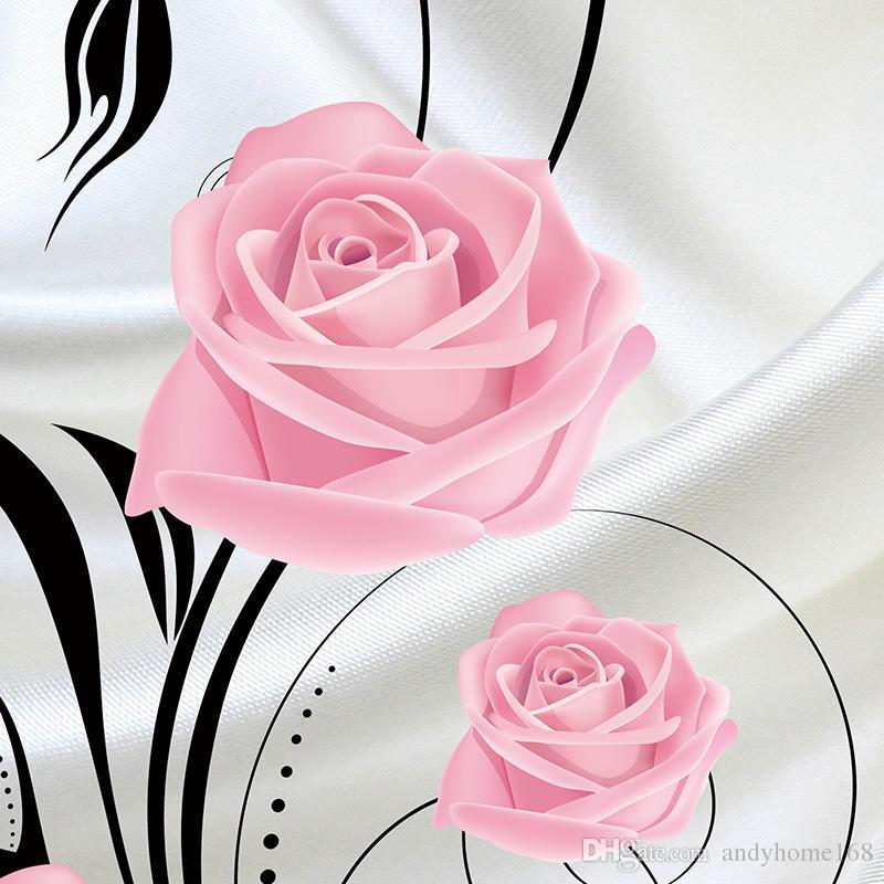 Compre Personalizado 3d Flower Photo Wallpaper Sala De Estar Dormitorio Sofá Tv Fondo De Pantalla Wallpaper Rose Flowers Wall Mural Wallpaper Roll A