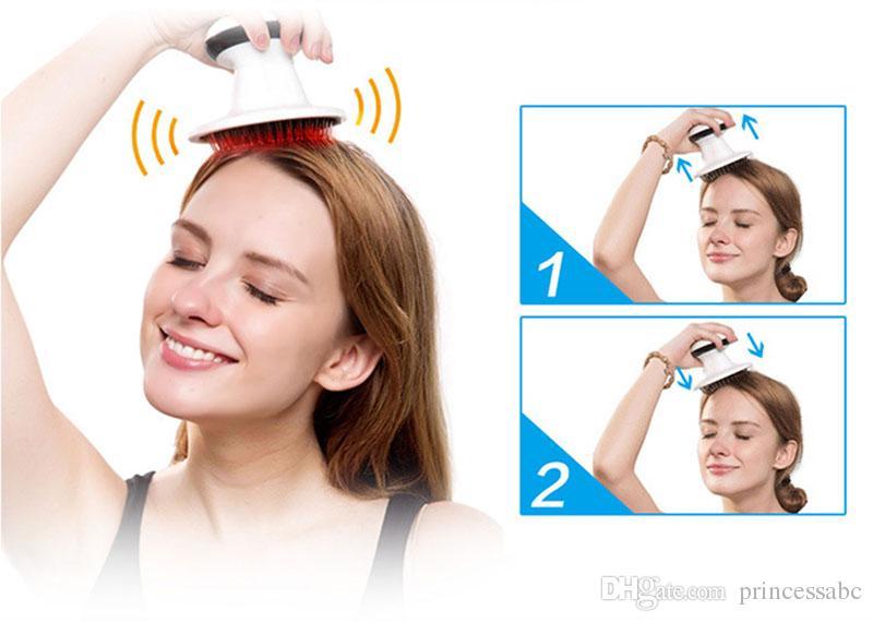 Bangyang مكافحة الإجهاد عشرات الألم الإغاثة الأخطبوط رئيس فروة الرأس الرقبة الإجهاد الإصدار الاسترخاء تدليك مخلب مدلك رئيس مدلك
