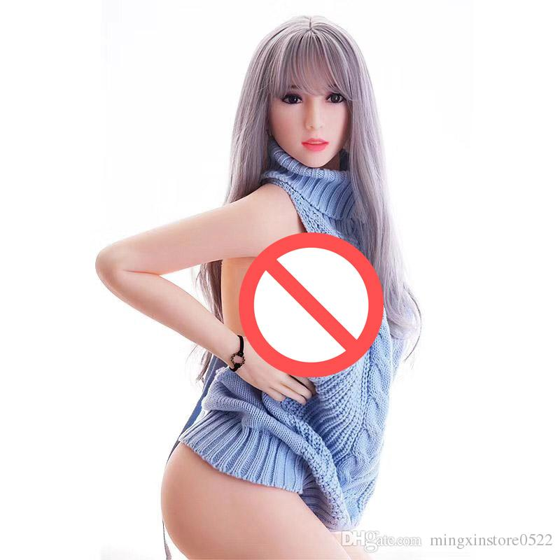 Free shipping 165cm cheap big breast sex doll full body silicone sex doll not blown up doll