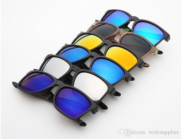 soleil lunettes de soleil chaudes pour les hommes de mode design lunettes hommes femmes lunettes de style d'été Sports de plein air anti-éblouissement Lunettes de sport 9272