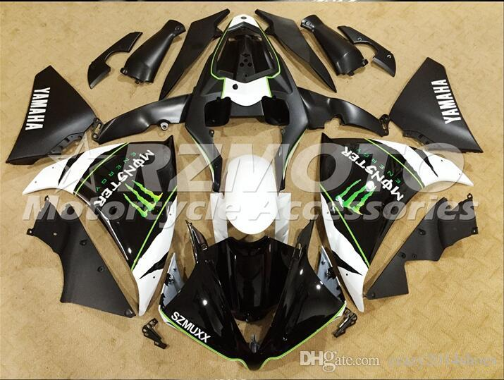 3 Free Gifts New motorcycle Fairings Kits For YAMAHA YZF-R1 2013-2014 R1 13-14 YZF1000 bodywork hot sales loves Black B71