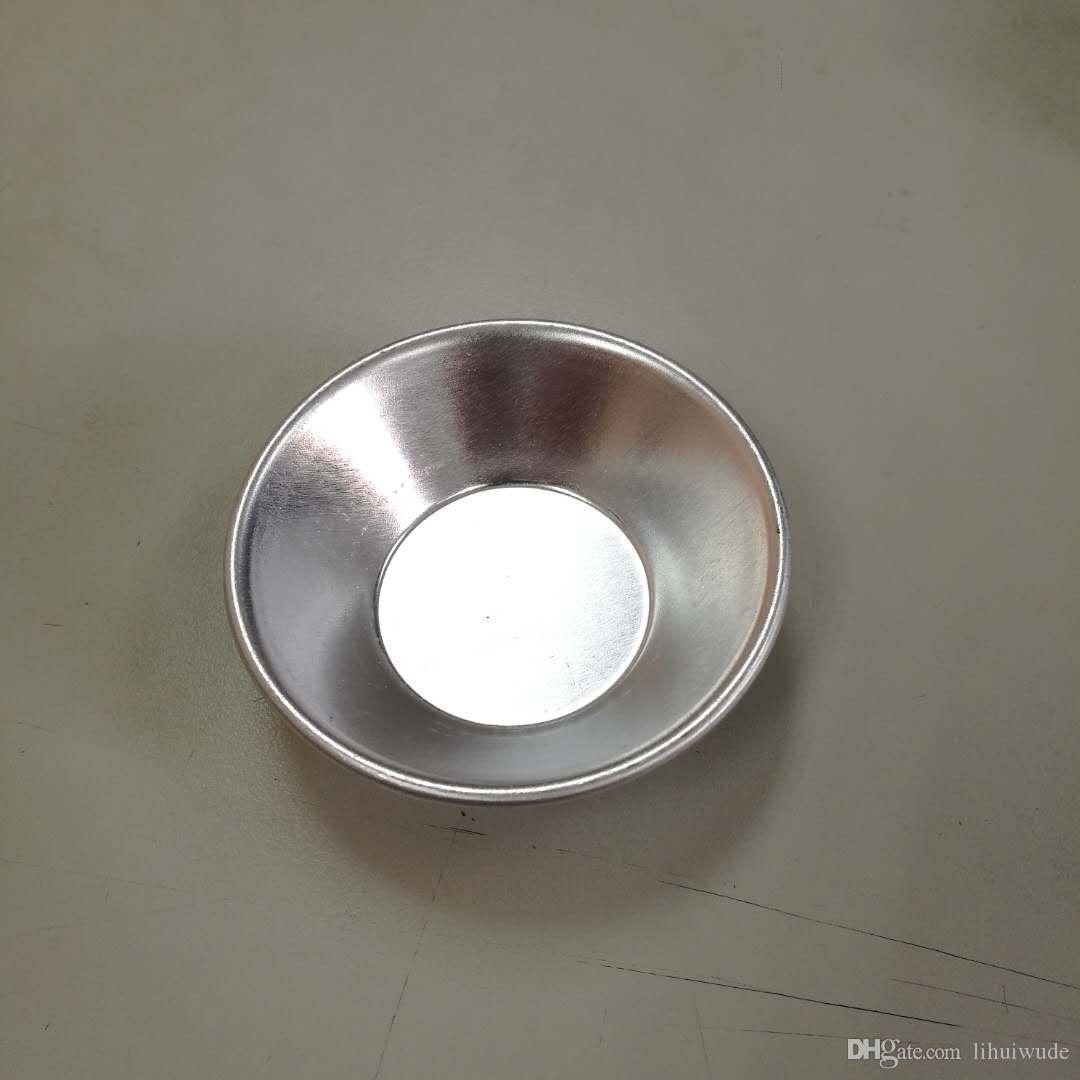 Juego de 5, mini molde para pastel (5 piezas, aluminio anodizado, FDA, estándar LFGB)