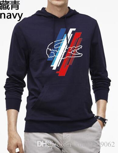 Menswear güz yeni gökkuşağı mektubu baskı yuvarlak yakalı baş kazak erkek kapşonlu düz ceket trendi