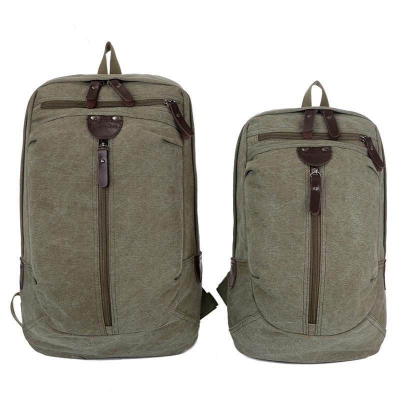 Bolsa de viaje de gran capacidad para hombre, mochila de alpinismo, bolsa de lona, hombro de lona, durante la noche, Mochila de viaje de fin de semana, Mochilas de viaje