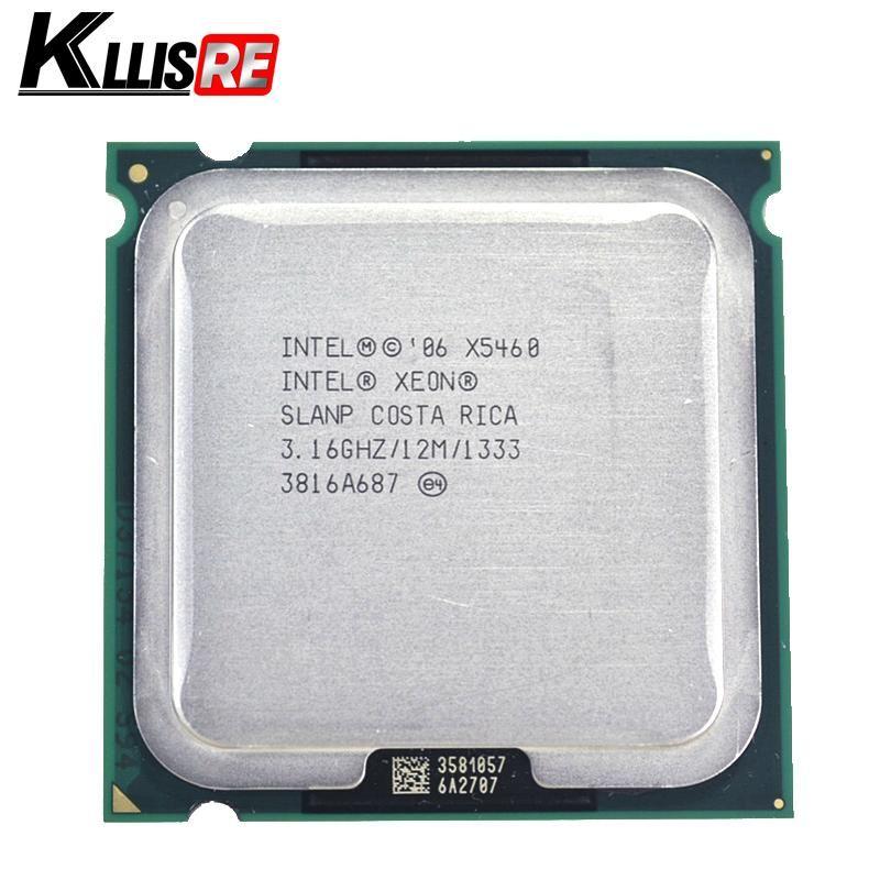 Procesador Intel Xeon x5460 3.16GHz 12M 1333Mhz funciona en la placa base LGA775 sin necesidad de adaptador
