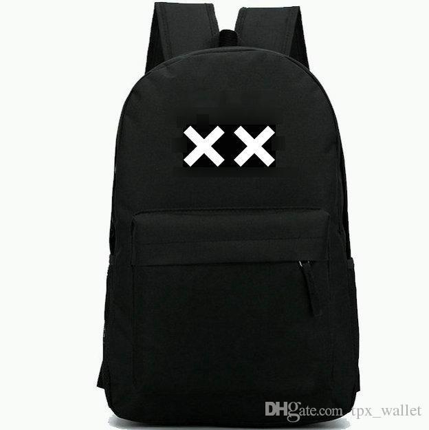Il XX zaino Indie Rock band daypack Top DJ music zainetto cool badge zaino Sport school bag Outdoor day pack