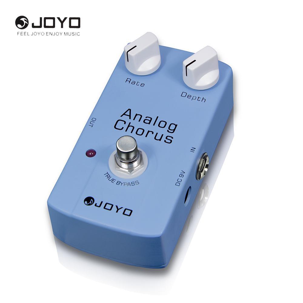 JOYO JF-37 Analog Chorus Pedal de efecto de guitarra eléctrica Tono ajustable True Bypass Design