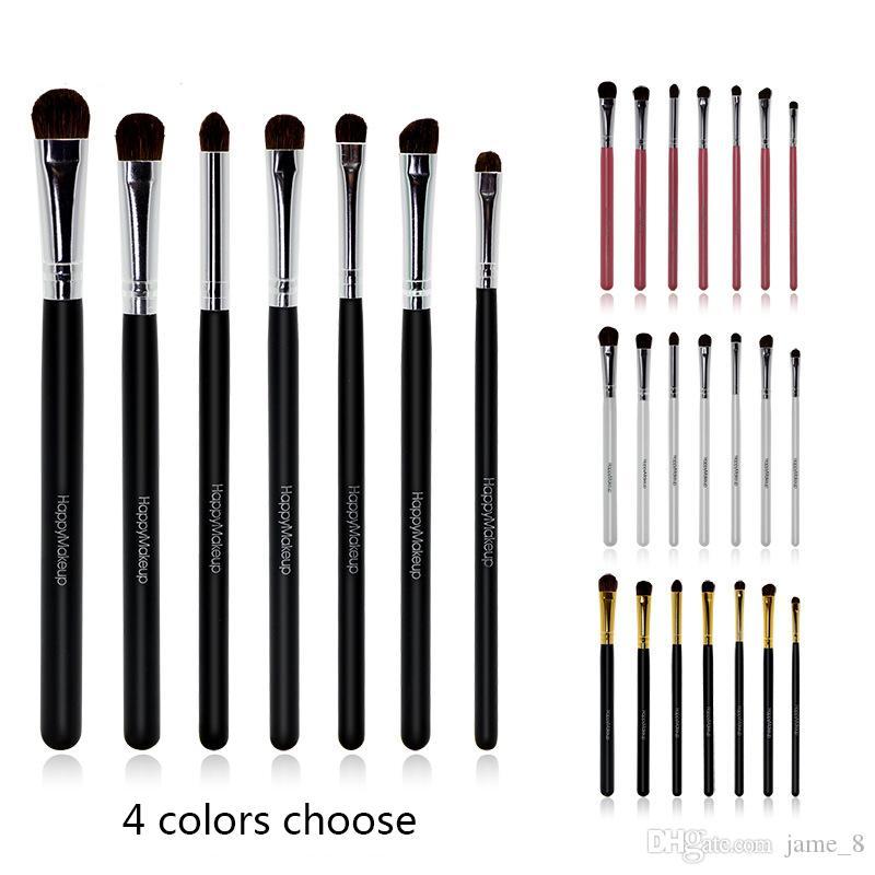 7 pcs Eye Brush soft hose Hair Eye shadow Makeup Brush Eyeshadow Cosmetic Tool Cosmetic Brush