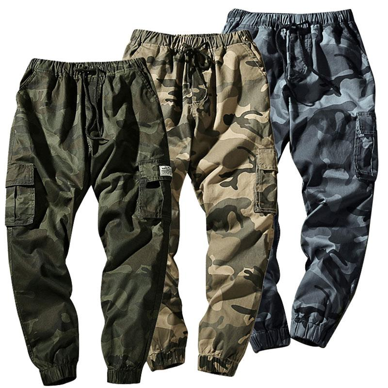official supplier meet new products 2020 New Mens Army Combat Cotton Camo Cargo Pants Tactical ...