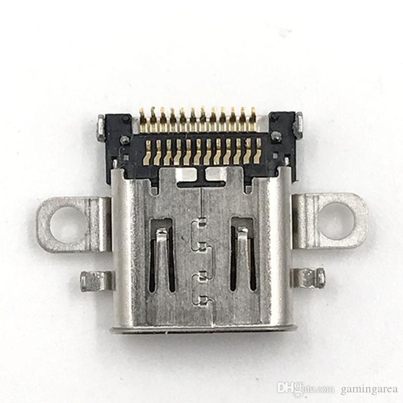 Оригинальный порт зарядки разъем питания разъем типа C зарядное гнездо для коммутатора NS консоли высокое качество быстрый корабль
