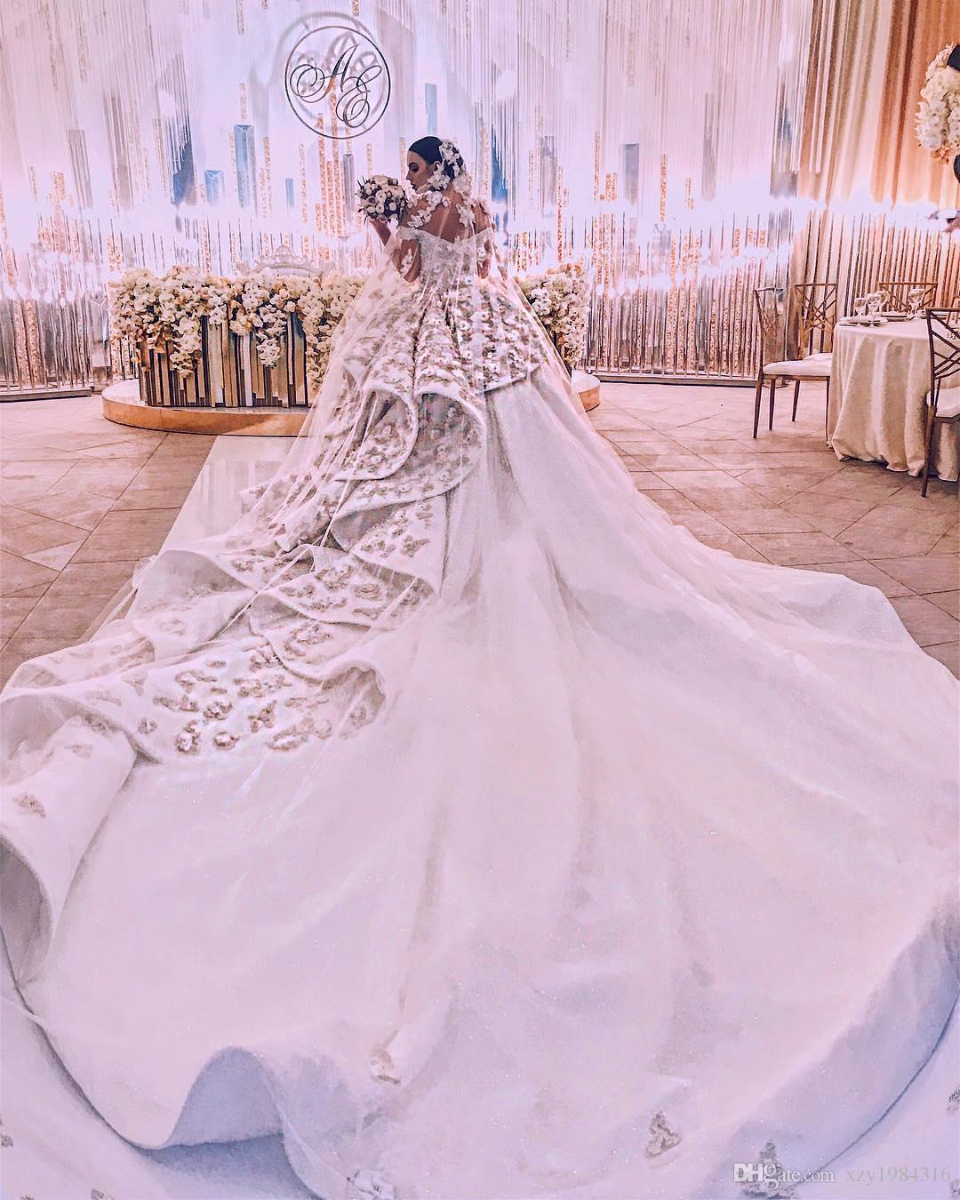 Hermosa Fluffy Wedding Dresses Imágenes - Colección de Vestidos de ...