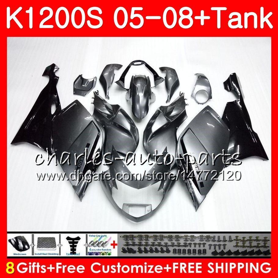 Ciało dla OEM K1200 S K 1200 S 05 10 K1200S 05 06 07 08 09 10 103HM1 K-1200S K 1200S 2005 2006 2007 2007 2009 2010 Zestaw fabryczny Factory
