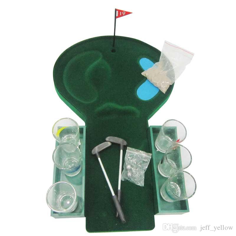 Free shipping European and American popular bar toys Recreation golf game Drinking props Add to the fun Party toy Supplies