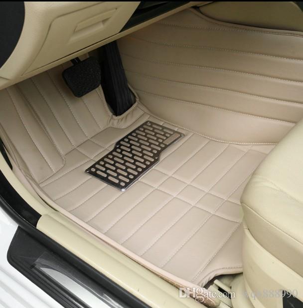 Custom Fit Car Floor Mata dla Audi A1 A1 A4 B6 B7 B8 B9 A5 A6 C6 C7 A7 Allroad Sportback A8 A8L Q3 Q5 Q7 Q7 R8 TT Dywaniki Dywanowe Liners - 002