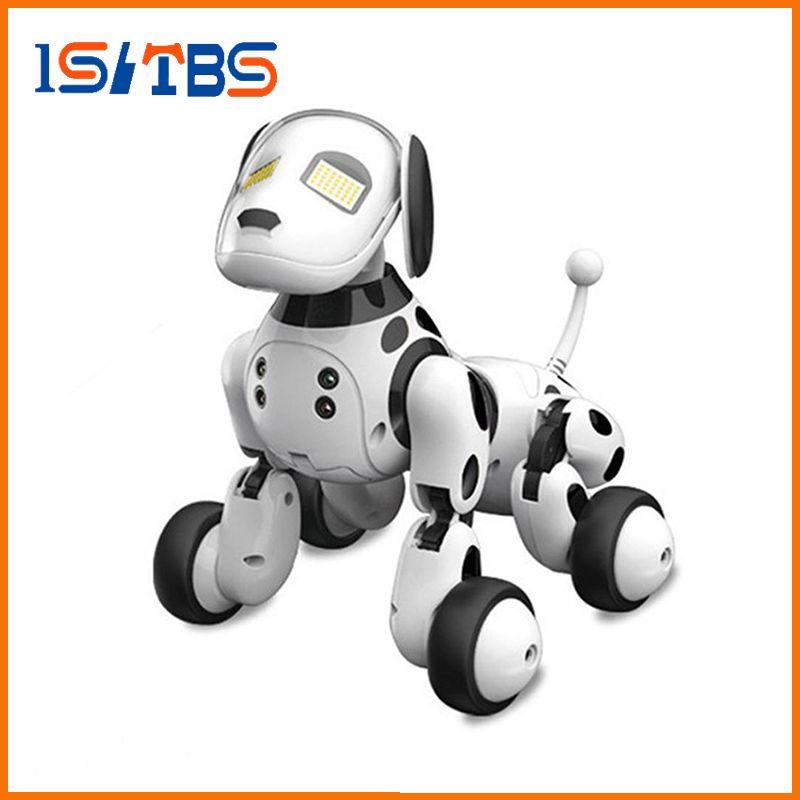 DIMEI 9007A 2.4G 무선 원격 제어 스마트 로봇 개 어린이 장난감 지능형 말하는 로봇 개 장난감 전자 애완 동물 생일 선물