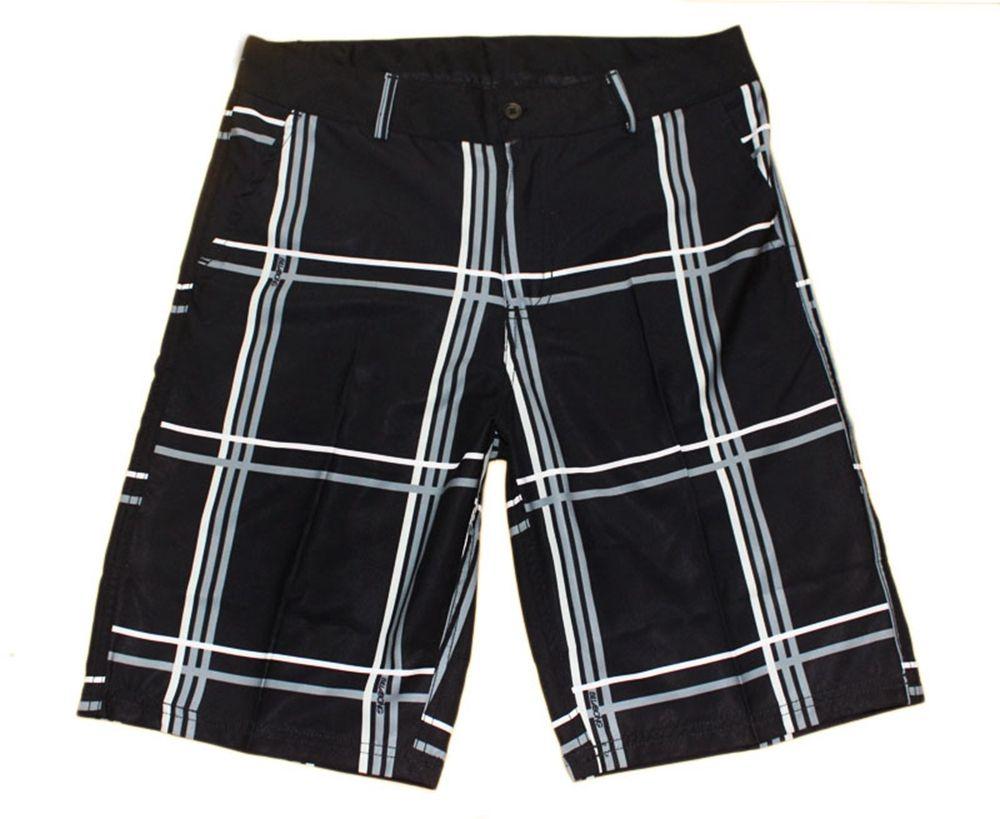 Elastic Fabric Leisure Suit Shorts Mens Swimming Trunks Swim Trunks Swimwear Swim Pants Quick Dry Surf Pants Bermudas Shorts Board Shorts
