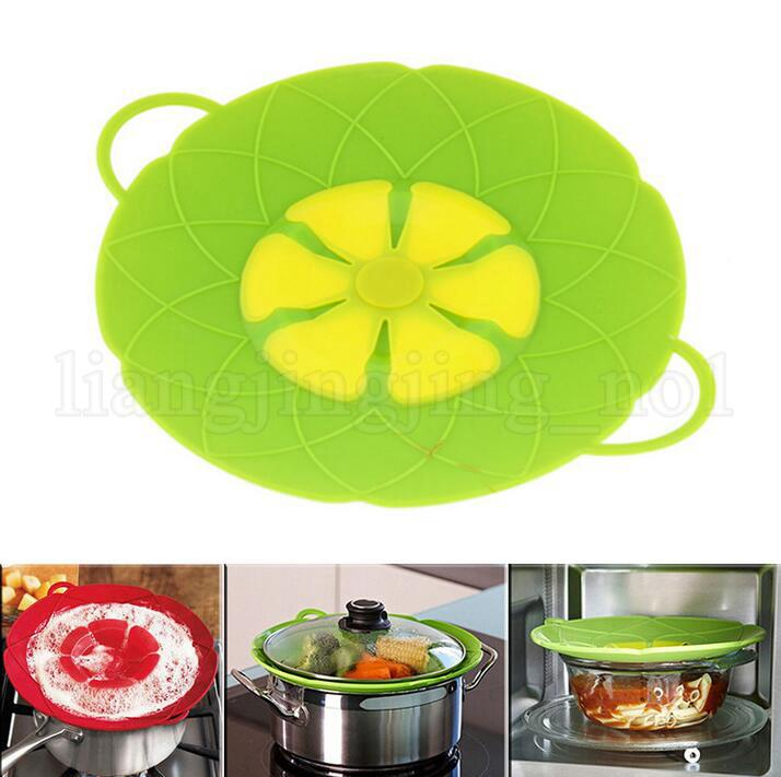 New Handy Lid Cover Silicon Stopper Mulitifunctional Cooking  Gadget
