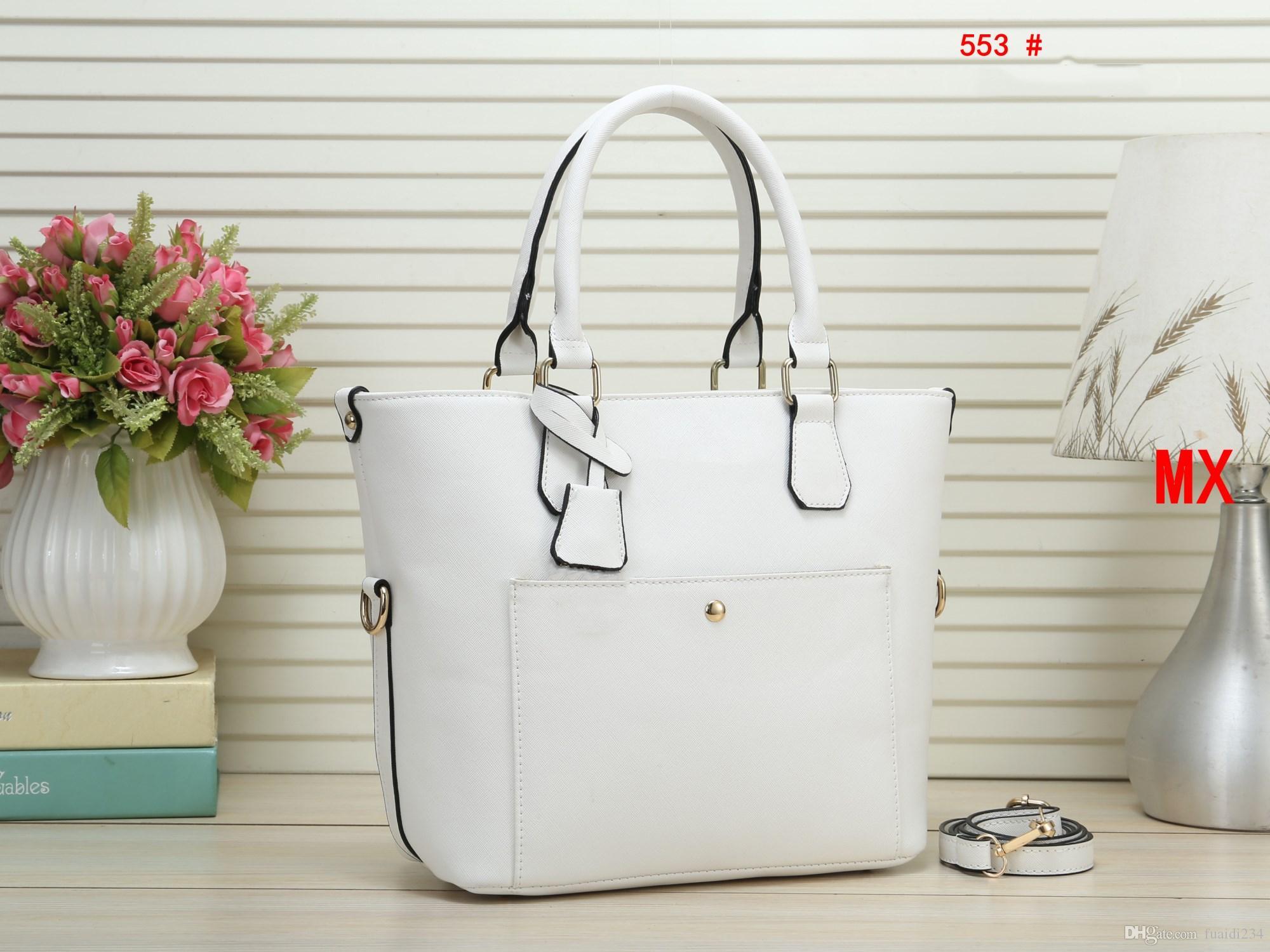 뜨거운!!! 유명 브랜드 여성 가방 PU 가죽 핸드백 유명 디자이너 브랜드 가방 지갑 숄더 토트 백 지갑 M553