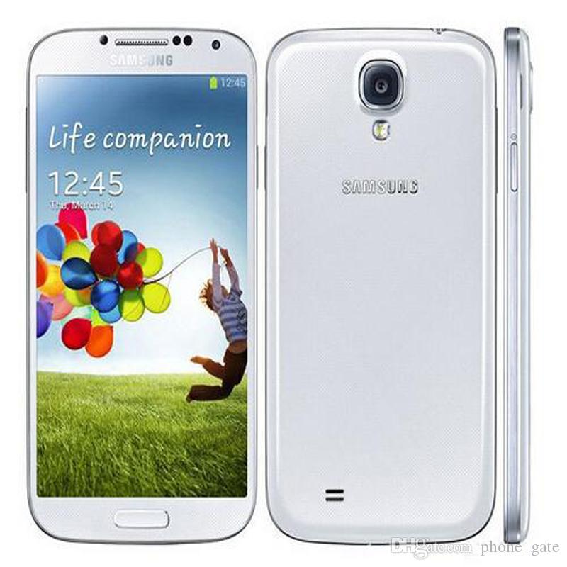 """الأصلي تم تجديده Samsung Galaxy S4 رباعية النواة I9500 I9505 2G RAM 16G ROM 5.0 """"Android 5.0 WCDMA LTE 4G Unlocked Smartphone"""