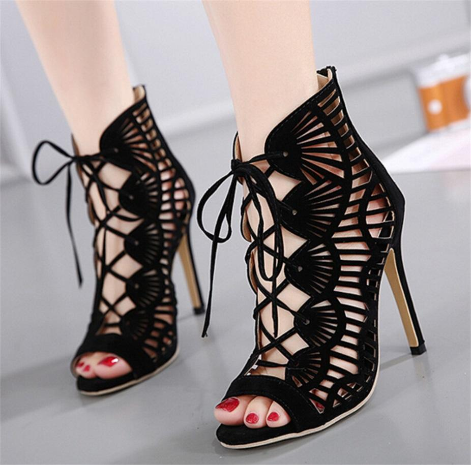 zg938-88 Womens Heel Sandal Dress-Shoes